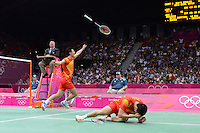 Cai and Fu, China, Gold Medal Winners, Mens Doubles Final, Badminton London Wembley 2012