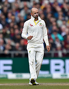 Nathan Lyon of Australia during the International Test Match 2019, fourth test, day three match between England and Australia at Old Trafford, Manchester, England on 6 September 2019.