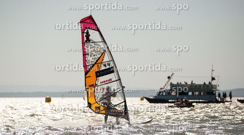 28.04.2012, Burgenland, Neusiedler See, Podersdorf, AUT, PWA, Surf Worldcup, im Bild Nicola Spadea, (ITA) // during surfworldcup at podersdorf, EXPA Pictures © 2012, PhotoCredit: EXPA/ M. Kuhnke