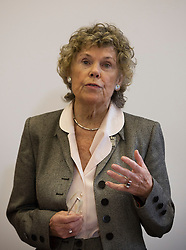 © Licensed to London News Pictures. 20/01/2016. London, UK. Kate Hoey MP helps to launch the Labour Party's 'Labour Leave' EU referendum campaign.  A referendum on the United Kingdom's membership of the European Union may be held as soon as this summer.  Photo credit: Peter Macdiarmid/LNP