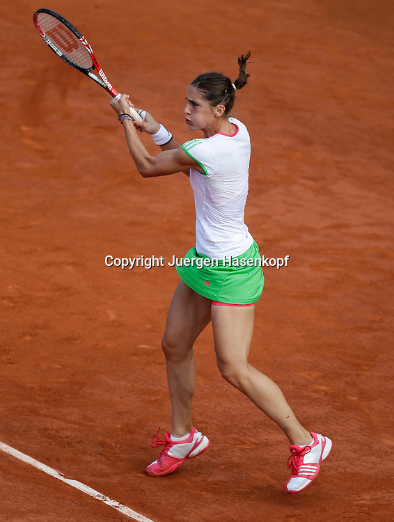 French Open 2011, Roland Garros,Paris,ITF Grand Slam Tennis Tournament . Andrea Petkovic (GER),.Einzelbild,Aktion,