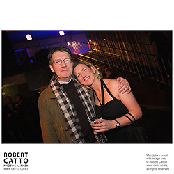 Alick Shaw;Delia Shanly at the Film Wellington 10th Anniversary Celebration at the Front Room, Wellington, New Zealand.<br />
