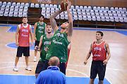 Chamutov 17 Agosto 2012 - qualificazioni Eurobasket 2013 - Allenamento<br /> Nella Foto : DANILO GALLINARI<br /> Foto Ciamillo/Castoria