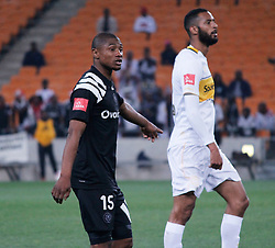 Thabo Qalinge who scored the goal in a match between Orlando Pirates  and Cape Town City at  Fnb Stadium on Tuesday September 19, 2017.