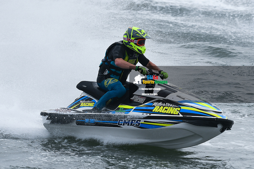 PATTAYA, THAILAND - DECEMBER 09: Christian Miller (17) of United Kingdom and Miller Racing in action during the Pro Sport GP Moto4 at the Thai Airways International Jet Ski World Cup 2018, Jomtien Beach, Pattaya, Thailand on December 09, 2018. <br /> .<br /> .<br /> .<br /> (Photo by: Naratip Golf Srisupab/SEALs Sports Images)<br /> .<br /> Any image use must include a mandatory credit line adjacent to the content which should read: Naratip Golf Srisupab/SEALs Sports Images