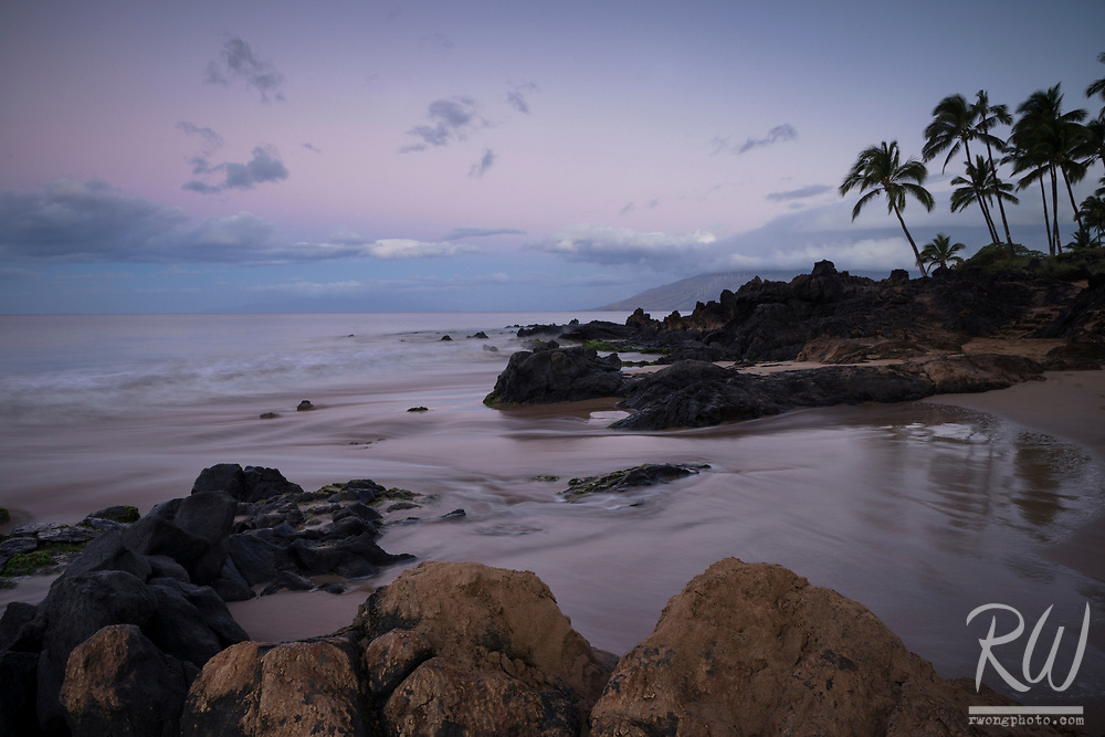 Kamaole Beach Park II at Dawn, Maui, Hawaii