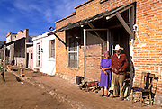 MEXICO, NORTH, DURANGO STATE Villa del Oeste, movie set 10K north of Durango, site of several of John Wayne's western films