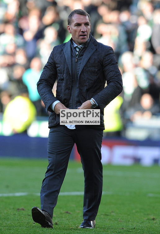 Celtic Manager Brendan Rodgers at the end of the match between Rangers v Celtic, Betfred Cup semi-final, Hampden Park, Sunday 23 October 2016, (c) Angie Isac | SportPix.org.uk