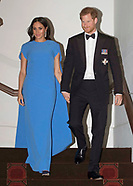 Meghan Markle & Prince Harry Attend Dinner, Suva