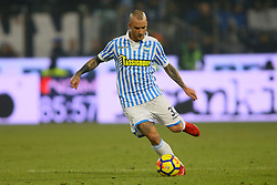 "Foto Filippo Rubin<br /> 06/01/2018 Ferrara (Italia)<br /> Sport Calcio<br /> Spal - Lazio - Campionato di calcio Serie A 2017/2018 - Stadio ""Paolo Mazza""<br /> Nella foto: FILIPPO COSTA (SPAL)<br /> <br /> Photo by Filippo Rubin<br /> January 06, 2018 Ferrara (Italy)<br /> Sport Soccer<br /> Spal vs Lazio - Italian Football Championship League A 2017/2018 - ""Paolo Mazza"" Stadium <br /> In the pic: FILIPPO COSTA (SPAL)"