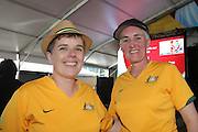 Australia fans - Women's World Cup Fans as the tournament comes to Vancouver<br /> <br />  - &copy; David Young - www.davidyoungphoto.co.uk - email: davidyoungphoto@gmail.com