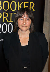 Writer ALI SMITH a finalist in the 2005 Man Boker Prize at a dinner to announce the 2005 Man Booker Prize held at The Guilhall, City of London on 10th October 2005.<br />