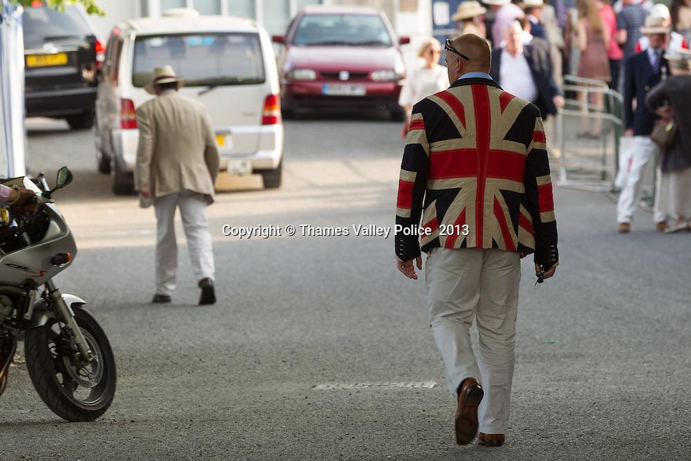 Henley Royal Regatta 2013. Henley, UNITED KINGDOM. July 05 2013. <br /> Photo Credit: MDOC/Thames Valley Police<br /> &copy; Thames Valley Police 2013. All Rights Reserved. See instructions.