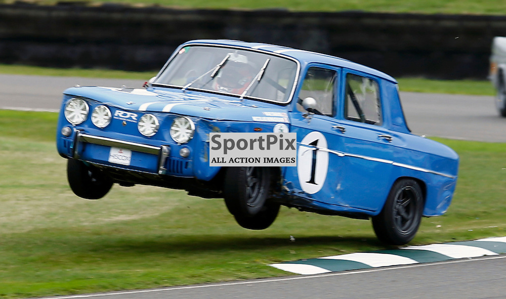 GOODWOOD REVIVAL......Nicolas Minassian in a 1965 Renault Gordini competing in the St. Mary's Trophy race part 1...(c) STEPHEN LAWSON | SportPix.org.uk