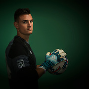 UVU Men's Soccer team members get head shots and promo shots in the studio on the campus of Utah Valley University in Orem, Utah on Monday August 7, 2017. (August Miller, UVU Marketing)
