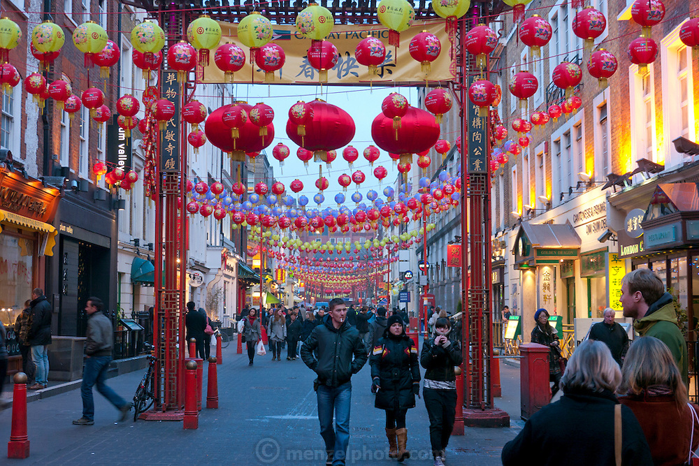 Soho/ Chinatown, London, UK