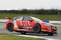#48 Ollie Jackson GBR AmD Tuning Audi S3 during Media Day Test Session as part of the BTCC Media Day at Donington Park, Melbourne, Leicestershire, United Kingdom. March 22 2016. World Copyright Peter Taylor/PSP. Copy of publication required for printed pictures.  Every used picture is fee-liable.