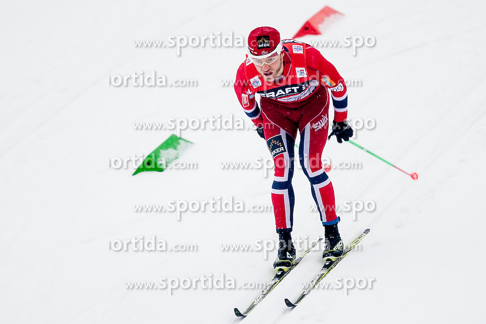 Martin Juhnsrud Sundby of Norway during mens 10km Classic individual start of the Tour de Ski 2014 of the FIS cross country World cup on January 4th, 2014 in Cross Country Centre Lago di Tesero, Val di Fiemme, Italy. (Photo by Urban Urbanc / Sportida)