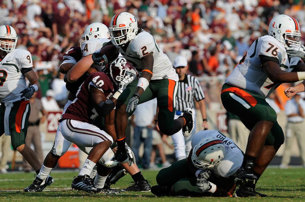 Miami @ Texas A&M, September 20, 2008.