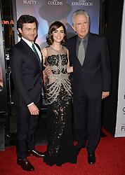 Alden Ehrenreich, Lily Collins & Warren Beatty bei der Premiere von Rules Don't Apply in Hollywood<br /> <br /> / 101116<br /> <br /> ***Premiere of Rules Don't Apply in Hollywood in november 10, 2016***