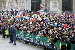 March 24, 2019 - Milano - Foto LaPresse - Mourad Balti Touati.24/03/2019 Milano (Ita) - Piazza Duomo.Cronaca.La partenza della Stramilano 2019 in Piazza Duomo.Nella foto: la partenza (Credit Image: © Mourad Balti Touati/Lapresse via ZUMA Press)