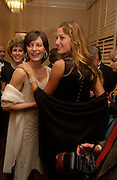 Anne Nelson, ( IMG in white dress) Giselle Bundchen, Bloomberg Reception, Washington Correspondents dinner, Washington Hilton, 26 April 2003. © Copyright Photograph by Dafydd Jones 66 Stockwell Park Rd. London SW9 0DA Tel 020 7733 0108 www.dafjones.com