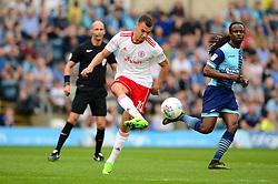 Kayden Jackson of Accrington Stanley - Mandatory by-line: Dougie Allward/JMP - 21/04/2018 - FOOTBALL - Adam's Park - High Wycombe, England - Wycombe Wanderers v Accrington Stanley - Sky Bet League Two