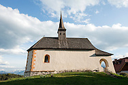 Church of St Michael in Oberjeserz, near Velden, on the Alpe Adria Trail, Carinthia, Austria © Rudolf Abraham