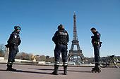 Eiffel Tower Trocadero Coronavirus Paris