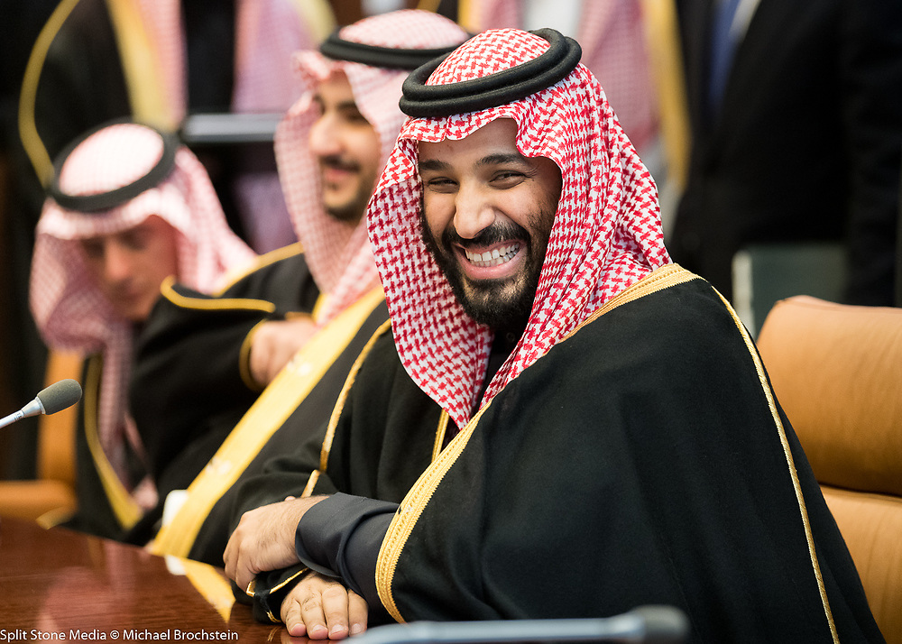 Prince Mohammed bin Salman Al Saud,<br /> Crown Prince, Kingdom of Saudi Arabia, at the United Nations in New York City on March 27, 2018.