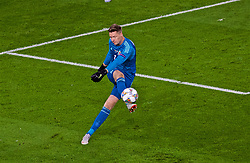 CARDIFF, WALES - Thursday, September 6, 2018: Wales' goalkeeper Wayne Hennessey during the UEFA Nations League Group Stage League B Group 4 match between Wales and Republic of Ireland at the Cardiff City Stadium. (Pic by Laura Malkin/Propaganda)