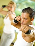 Boxercise lifestyle shoot