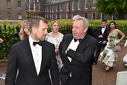 Peter Phillips and David Yarrow at the Tusk Ball at Kensington Palace, London, England. 09 May 2019.
