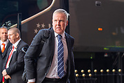 Manager of Portsmouth FC, Kenny Jackett arrives the EFL Sky Bet League 1 match between Sunderland and Portsmouth at the Stadium Of Light, Sunderland, England on 17 August 2019.