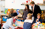 Baarn, 21-05-2015 <br /> <br /> King Willem-Alexander opened the New Baarnse School.<br /> <br /> Photo:Royalportraits Europe/Bernard Ruebsamen