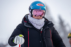 04.02.2019, Are, SWE, FIS Weltmeisterschaften Ski Alpin, Damen, Abfahrt, 1. Training, im Bild Mikaela Shiffrin (USA) // Mikaela Shiffrin of the USA during 1st Ladies Dwonhill Training of the FIS Ski Alpine World Championships 2019 in Are, Sweden on 2019/02/04. EXPA Pictures © 2019, PhotoCredit: EXPA/ Dominik Angerer