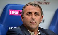 FUSSBALL   1. BUNDESLIGA   SAISON 2012/2013   LIGA TOTAL CUP  FC Bayern Muenchen - SV Werder Bremen       04.08.2012 Manager Klaus Allofs (SV Werder Bremen)
