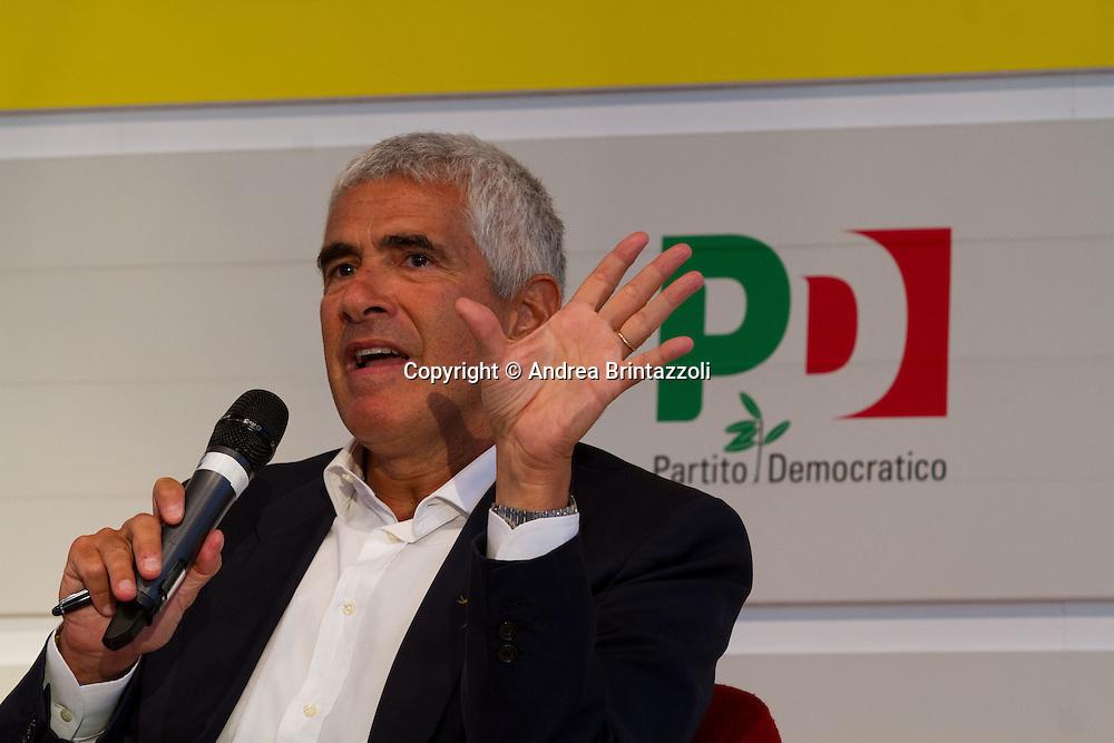 Bologna 02 Settembre 2014 - Festa dell'Unità. Dbattito: L'Europa nell'occhio del ciclone. Nella foto Pier Ferdinando Casini