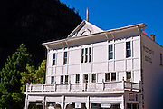 The historic Western Hotel, Ouray, Colorado
