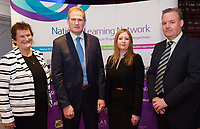 Mo Flynn CEO Rehab Group with Sean Kyne Minister of State for Community Affairs, Natural Resources and Digital Development, Catherine Whelan COO Rehab Group  and Patrick Hannon  Manager National Learning Network, Galway  Photo:Andrew Downes, xposure .