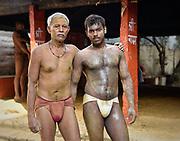 Kushti wrestlers, Varanasi