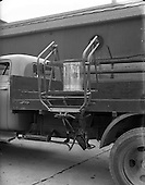 1953 - Demonstation of truck loader at McCairns Motors Ltd., Dublin