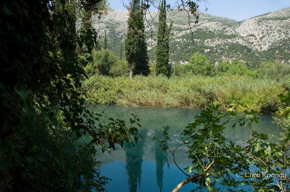 Lake Avithos near Agios Nikolaos; Kefalonia, The Ionian Islands, Greece