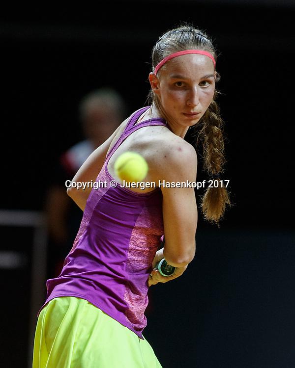 TAMARA KORPATSCH (GER)<br /> <br /> Tennis - Porsche  Tennis Grand Prix 2017 -  WTA -  Porsche-Arena - Stuttgart -  - Germany  - 26 April 2017.