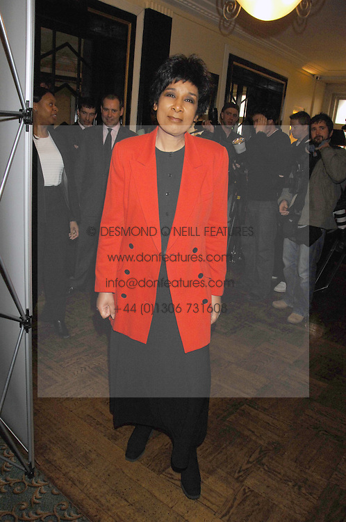 MOIRA STUART at the 2008 Oldie of The year Awards and lunch held at Simpsons in The Strand, London on 11th March 2008.<br />