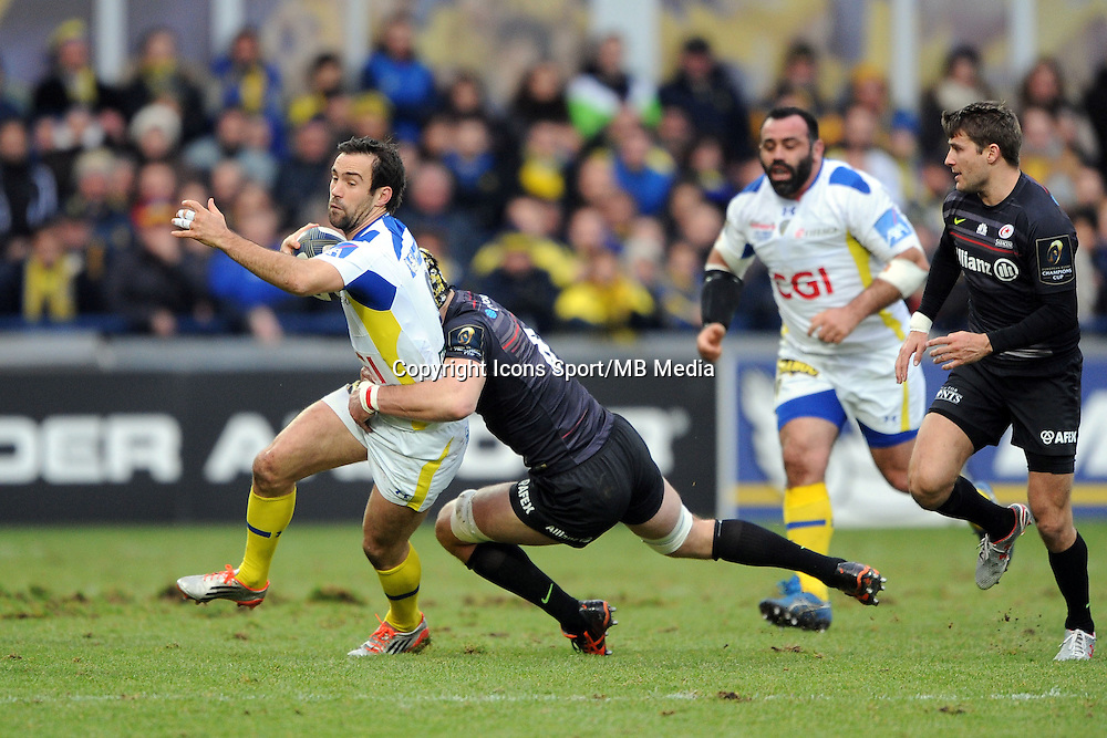 Morgan PARRA - 25.01.2015 -  Clermont / Saracens - European Champions Cup <br />