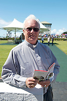 04/08/2013 Fr. Michael Reilly who gave out some tips during mass at the race course  on the last day of the  Galway Races. Picture:Andrew Downes