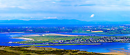 View overlooking Rosse's Point from Knocknarea near Sligo Town at 135mm offering stunning levels of detail, with the Donegal Mountains in the background