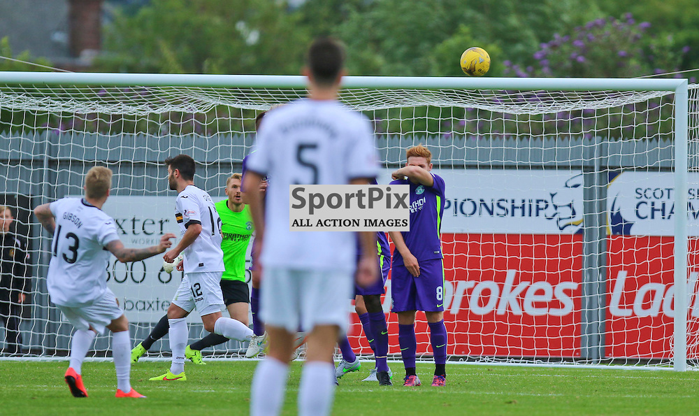 Gibsons Surperb free kick his the back of the net to earn sons 3 points<br /> <br /> <br /> <br /> <br /> <br /> (c) Andy Scott | SportPix.org.uk