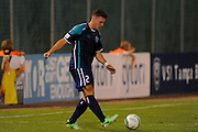 VSI Tampa Bay FC defender Jamie McGuinness (2) in action against Antigua Barracuda in a USL Pro soccer match at Plant City stadium in Plant City, Florida on June 7, 2013. VSI won 8-0.<br /> <br /> ©2013 Scott A. Miller
